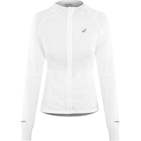 asics Packable Jacket Damen brilliant white